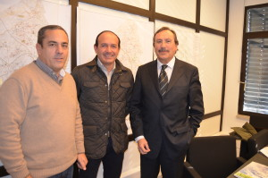 Carlos Coutinho, Francisco Oliveira e Pedro Ferreira