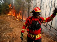 Incêndio de Monchique com 95% do perímetro dominado