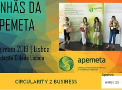 """Manhãs da Apemeta"" debatem Circularity 2 Business"