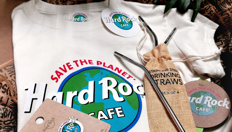 Hard Rock Cafe Lisboa com nova coleção Save The Planet