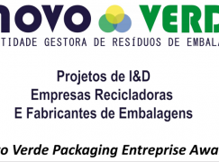 Novo Verde lança 2.ª edição do Novo Verde Packaging Entreprise Award no GreenFest