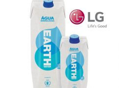 LG Portugal agora bebe Earth Water
